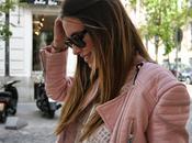 Pink biker summer dress