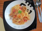 Espagueti almejas (spaguetti vongole)