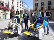Bicicletas adaptadas para personas discapacidad, servicio pionero Playa Juan