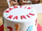 Rainbow Cake Caramel Cupcakes Tarta Arcoiris Caramelo