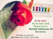 Sant Jordi 2014 Barcelona Nowevolution firmas