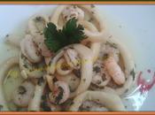 Calamares gambas ajillo