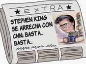 Stephen King grita Twitter: ¡basta, basta! más, más!