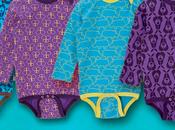 Moda algodón orgánico para bebés