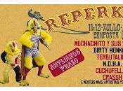 Reperkusión 2014: Muchachito Compadres, Dirty Honkers, Terbutalina, Cuchufellos, Crassh, N.O.H.A...