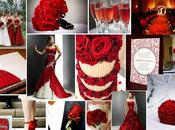 Ideas originales para bodas Sant Jordi: ideas decoración rosas rojas