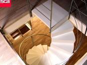 Ventajas escaleras caracol tanto madera como metálicas