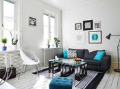 TURQUESA ROJO APARTAMENTO NORDICO Turqueoise nordic apartment