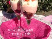 Neapolitan parfait: brownie nueces, mousse fresas marshmallows nata -tercer reto rico mami!