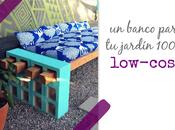 DIY: banco para jardín