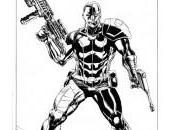 Primer vistazo nuevo Deathlok, adoptando estilo Agents S.H.I.E.L.D.