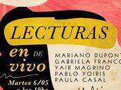 Eventos Grupo Alejandría invita escuchar literatura Librería Ghandi