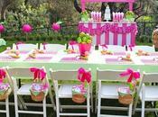 Decoraciones mesas para fiesta niñas