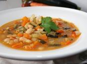 Alubias verduras curry