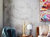 Quiero pared cemento (falso) want (faux) concrete wall