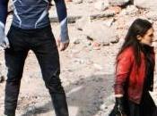 Aaron Taylor-Johnson Elizabeth Olsen hablan sobre Vengadores: Ultrón