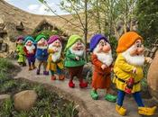Seven Dwarfs Mine Train está listo