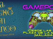 segunda edición GamePolis presenta Noche Blanco Málaga