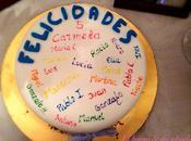 clase tarta cumpleaños