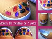 DIY: Como customizar zapatillas lona pasos
