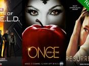 renovado 'Agents SHIELD', 'Once Upon Time' 'Resurrection' temporada más.