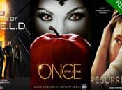 renovado 'Agents SHIELD', 'Once Upon Time' 'Resurrection' temporada más.