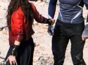 Aaron Taylor-Johnson Elizabeth Olsen hablan nuevo Vengadores: Ultrón