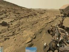 selfies llegaron hasta Marte: Curiosity tomó autofoto