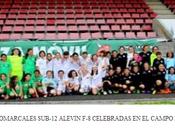 Selecciones Alevines Coruña femenina masculina ganan Campeonato Comarcales.