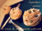 Cupcakes salmón, salados nuevo, hacía mucho