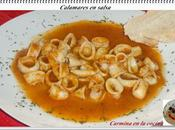 Calamares salsa