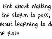 Bailar abajo lluvia.