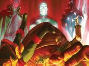 Portada Alex Ross para Project Superpowers navideño