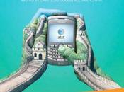 Publicidad internacional AT&T; Manos pintadas