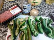 Pimientos rellenos, vamos comer verduras!!