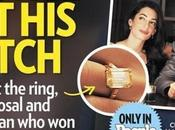 anillo compromiso George Clooney