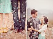 Burbujas para bodas: magia está aire