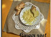 Jengibre frito Fried Ginger root