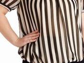 Blusas rayas para gorditas