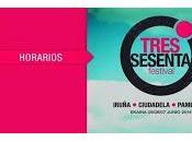 Horarios Tres Sesenta Festival Pamplona