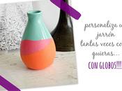 diy: decora jarrón globos