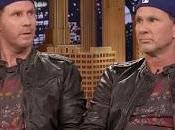 hilarante duelo baterías entre Chad Smith Will Ferrell