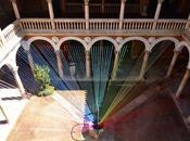 Encaje colores: arco iris efímero Museo Valladolid.