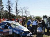 mujer murió tras despistarse auto Rally Córdoba