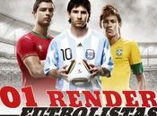 Renders Futbolistas Selecciones
