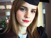 Emma Watson gradúa universidad