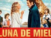 Afiche #LunaDeMielEnFamilia (#Blended). Estreno, Junio