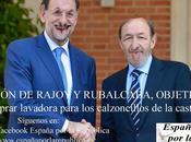 Reunión Rajoy Rubalcaba: OBJETIVO FRENAR PODEMOS