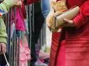 Duquesa Cambridge, todo rojo Escocia