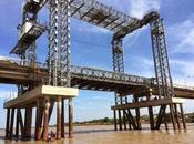 Puente María Nieves Apure sección ascensor levadiza